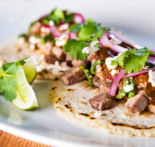 Mittagessen Mittagsmenü Burger Tacos American Food Tex-Mex Fast Food